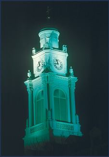 Schenectady City Hall clock tower