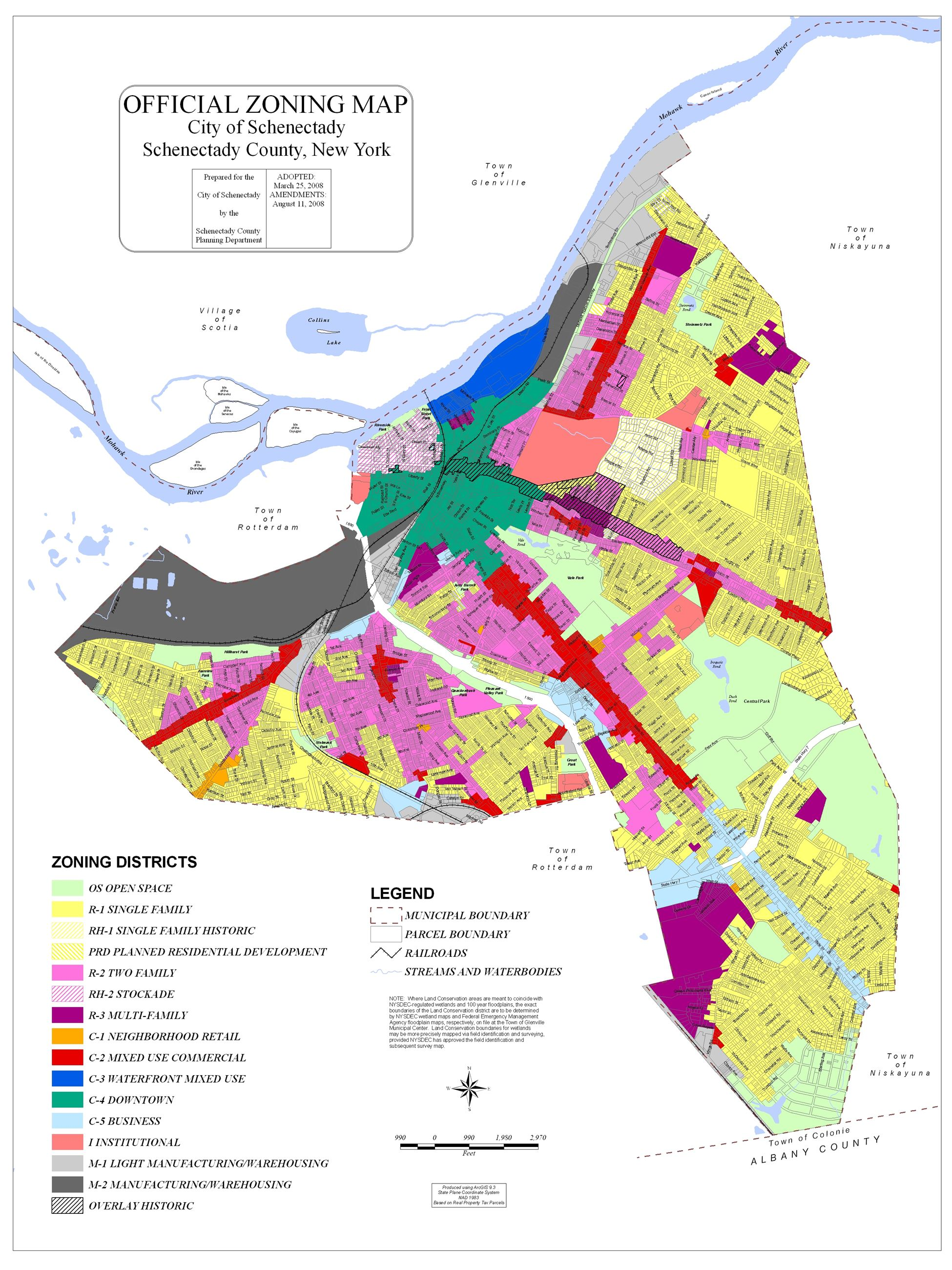 Map Of New York Ny Neighborhoods.Comprehensive Plan 2020 Schenectady Ny