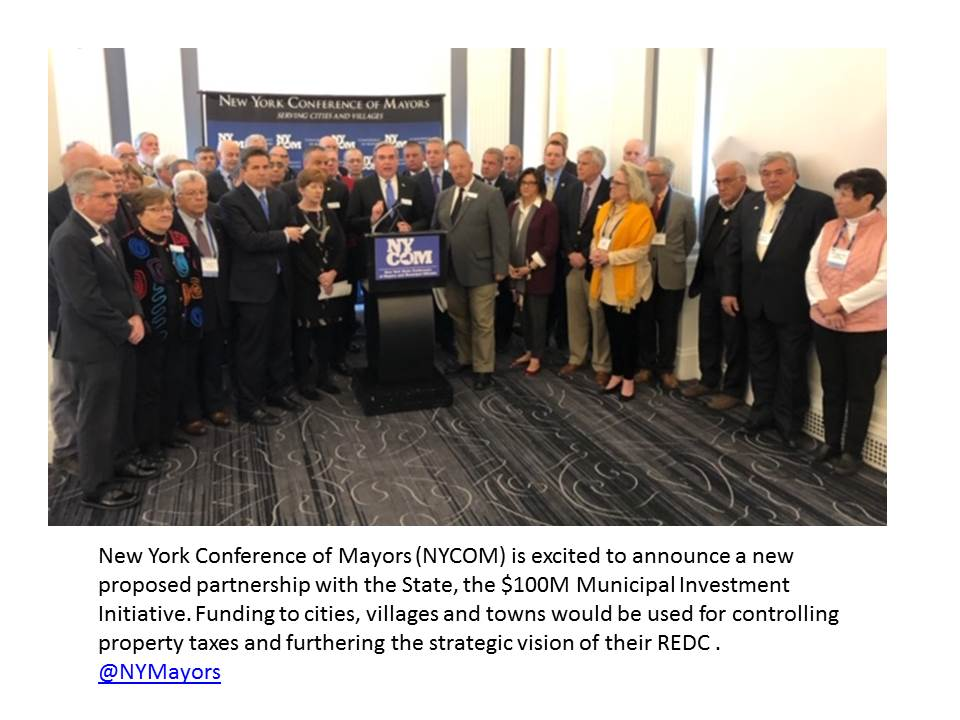 NYCOM ANNOUNCEMENT